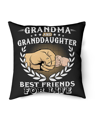 Grandma And Granddaughter Best Friends For Life