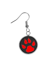 Dog print - JY Circle Earrings thumbnail