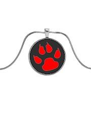 Dog print - JY Metallic Circle Necklace thumbnail