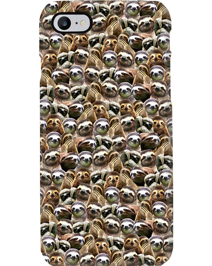 Sloths Full Face Phone Case