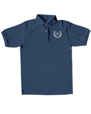 Embroidered Laurel Sigma Kappa Classic Polo embroidery-polo-short-sleeve-layflat-front