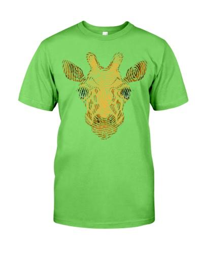 Fingerprint Giraffe - AL