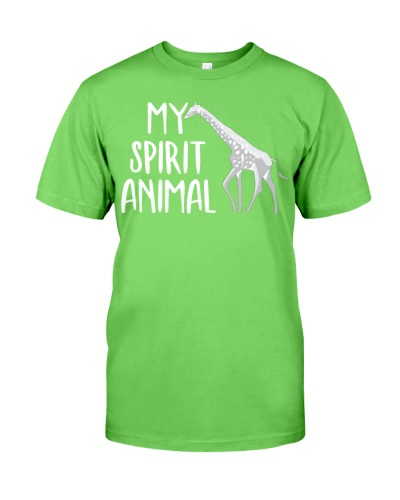 Giraffe is My Spirit Animal - AL