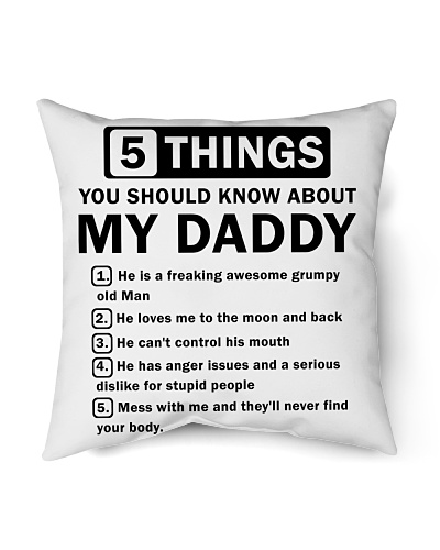 5 Things You Should Know About My Daddy