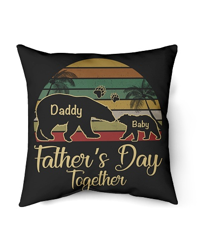 Daddy And Baby Bear - Father's Day Together