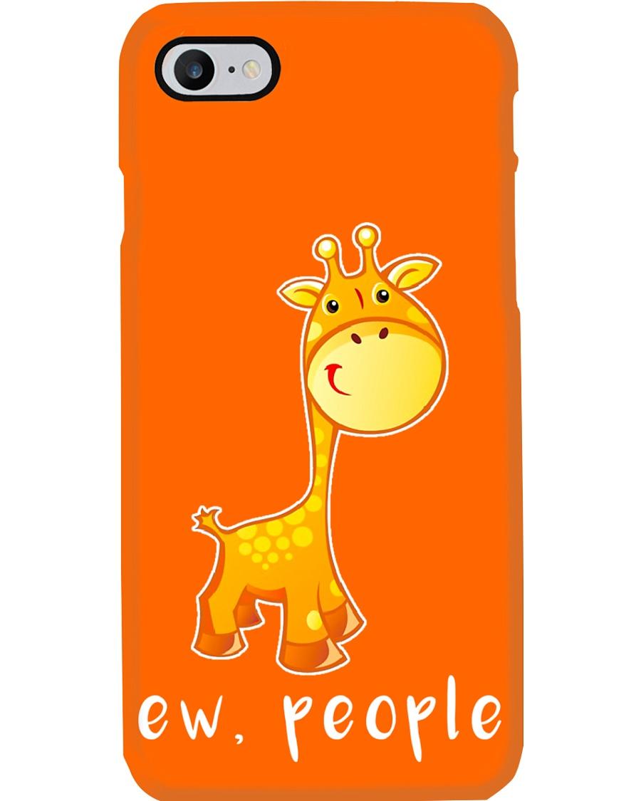 Giraffe ew people - AS Phone Case