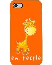 Giraffe ew people - AS Phone Case i-phone-7-case