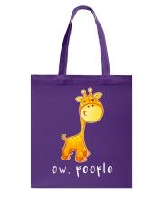 Giraffe ew people - AS Tote Bag thumbnail