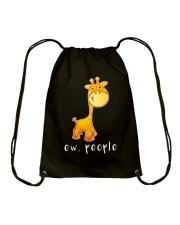 Giraffe ew people - AS Drawstring Bag thumbnail