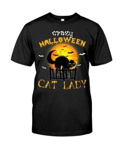 Crazy halloween cat lady - AL