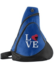 Embroidered Love Cat Heart Sling Pack thumbnail