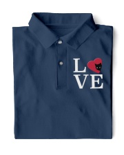 Embroidered Love Cat Heart Classic Polo thumbnail