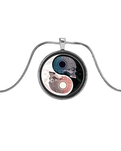 Skull yin yang - JY