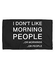 I don't like morning people - HL Hand Towel (horizontal) thumbnail