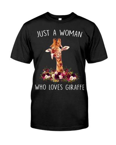Woman Loves Giraffe - AL