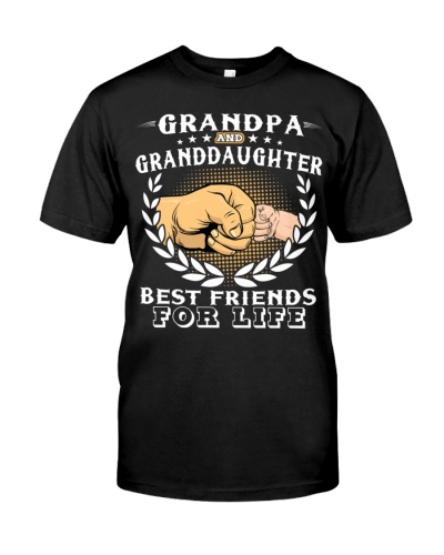 Grandpa And Granddaughter Best Friends For Life
