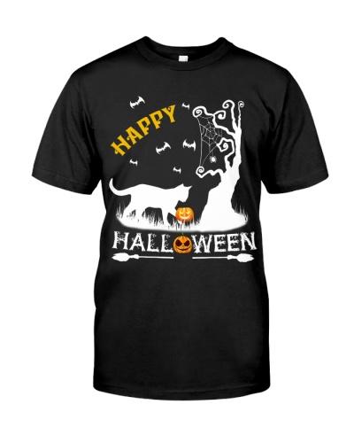 Cat happy halloween - AL