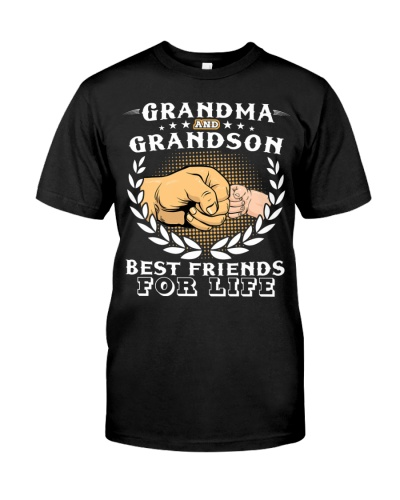 Grandma And Grandson Best Friends For Life