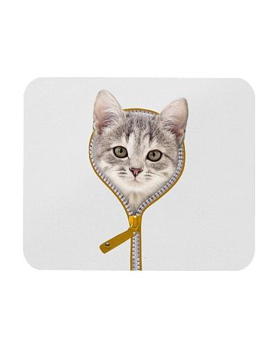 Zip face cat - AS