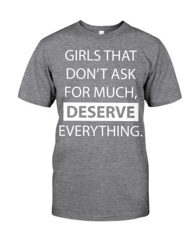 Girls deserve everything - AL