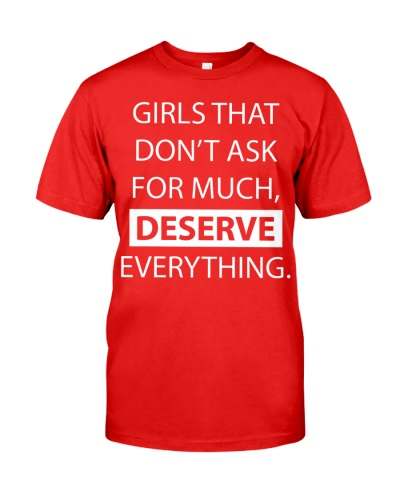 Girls deserve everything - AL