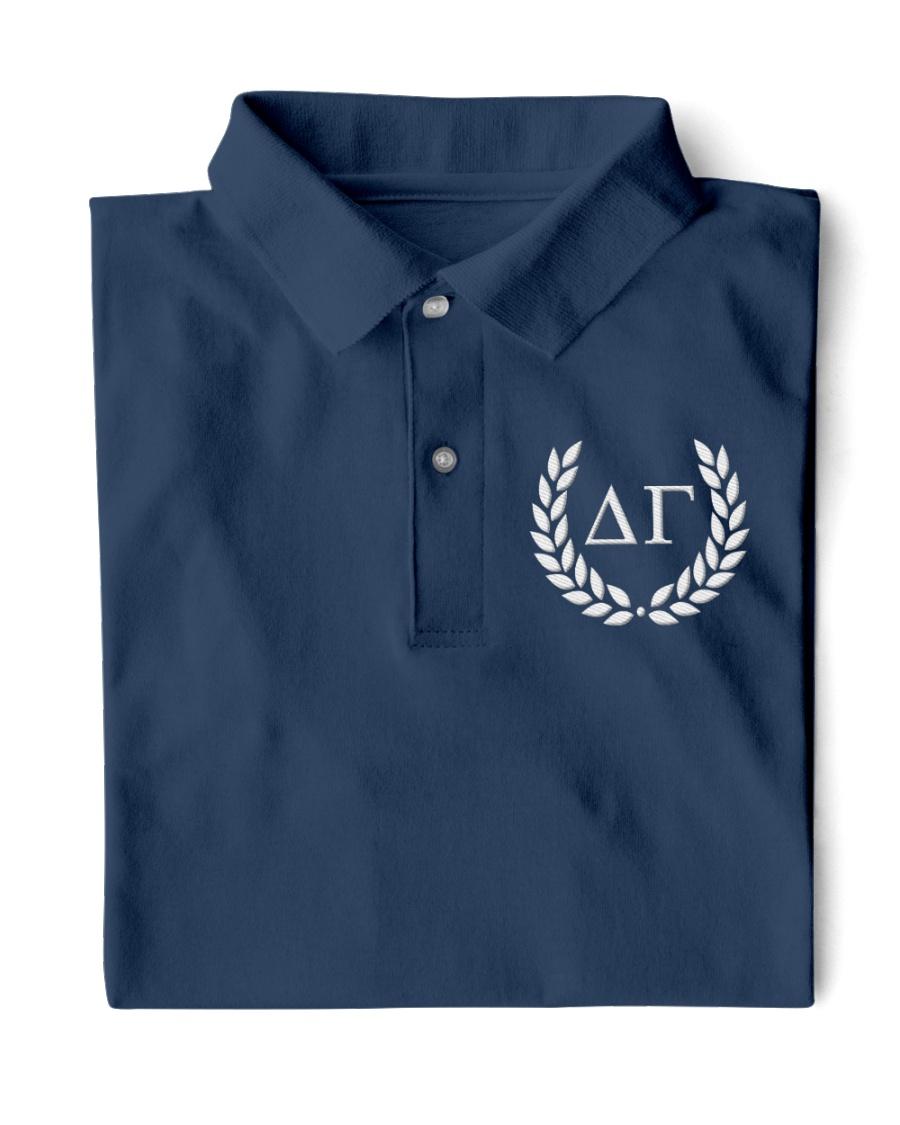 Embroidered Laurel Delta Gamma Classic Polo