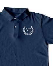 Embroidered Laurel Delta Gamma Classic Polo garment-embroidery-classicpolo-lifestyle-07