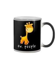 Giraffe ew people - HL Color Changing Mug thumbnail
