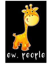 Giraffe ew people - HL 11x17 Poster thumbnail