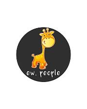 Giraffe ew people - HL Circle Magnet thumbnail