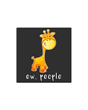 Giraffe ew people - HL Square Magnet thumbnail
