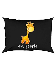 Giraffe ew people - HL Rectangular Pillowcase thumbnail