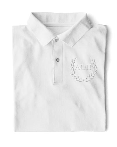 Embroidered Laurel Alpha Omicron Pi