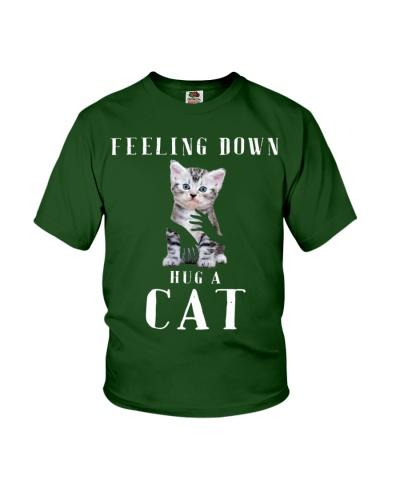 Feeling down Hug a cat - AL