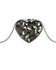 Camo cats - JY Metallic Heart Necklace thumbnail