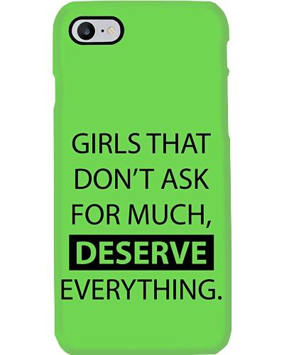 Girls deserve everything - AS