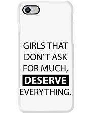 Girls deserve everything - AS Phone Case thumbnail