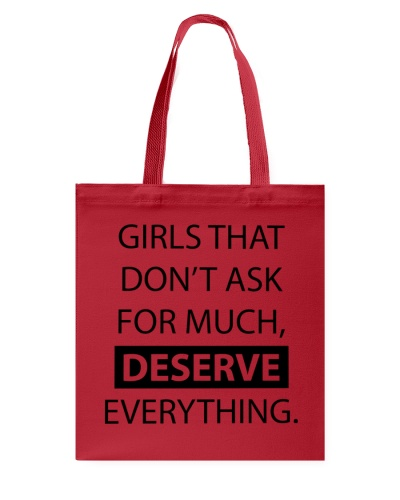 Girls deserve everything - AS