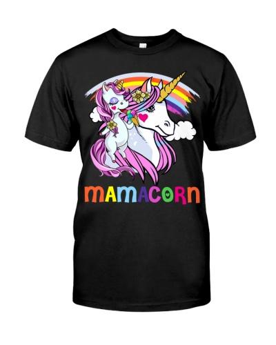 Mamacorn - Mama Unicorn Rainbow