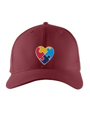 Embroidered Autism Heart Embroidered Hat thumbnail