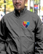 Embroidered Autism Heart Lightweight Jacket garment-embroidery-jacket-lifestyle-02
