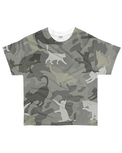 Cat Camouflage TS
