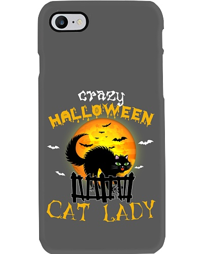 Crazy halloween cat lady - AS