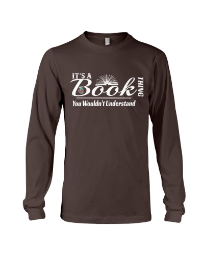 Book lover shirt-Book THING