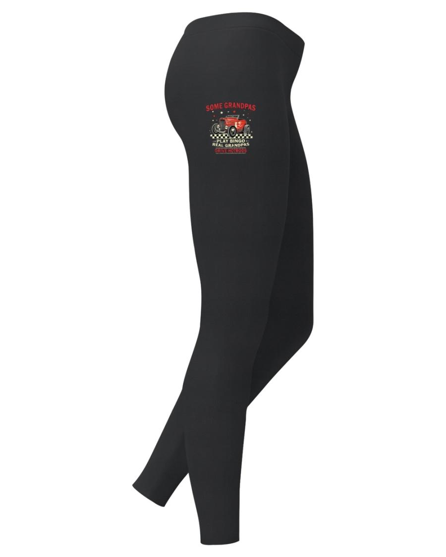 Hot Rod Grandpa Fashion I LIMITED EDITION Ladies Leggings