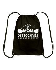 Mom strong-Is this you Drawstring Bag thumbnail