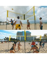 Volleyball Nets Four Sided Volleyball Net - Large front-10