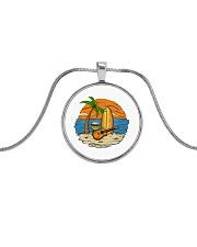 testfbpixel Metallic Circle Necklace thumbnail