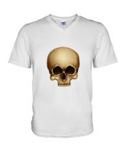 skull-sp-dup V-Neck T-Shirt tile