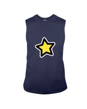 dup stars pixel Sleeveless Tee front